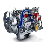 manutenção em motor caminhão scania Americana