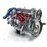 motor caminhão scania