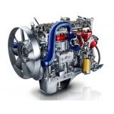 motor do caminhão