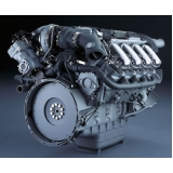 motor do caminhão Holambra